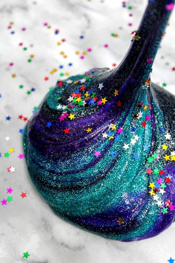 diy galaxy slime