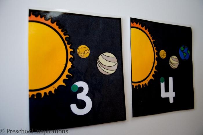 space activities for kids #2