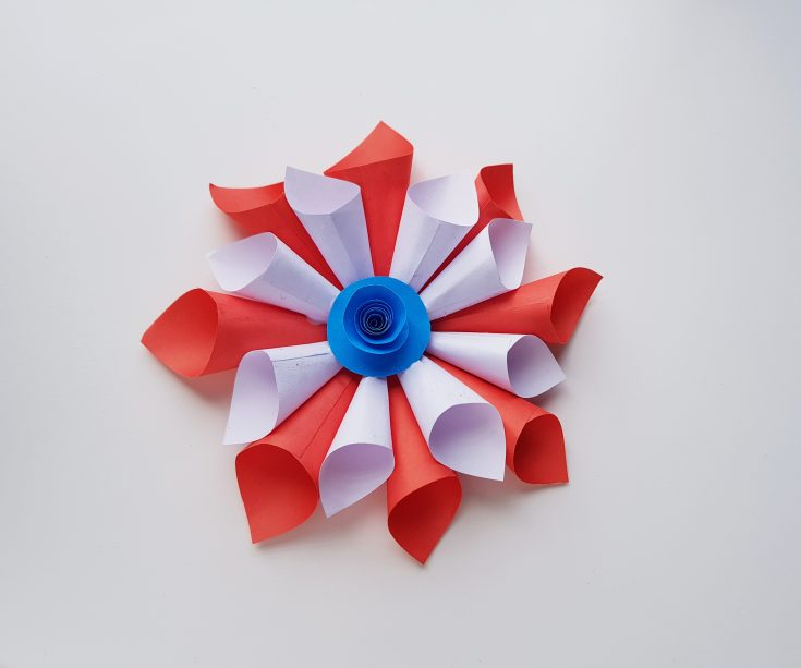 4th of July Paper Cone Décor