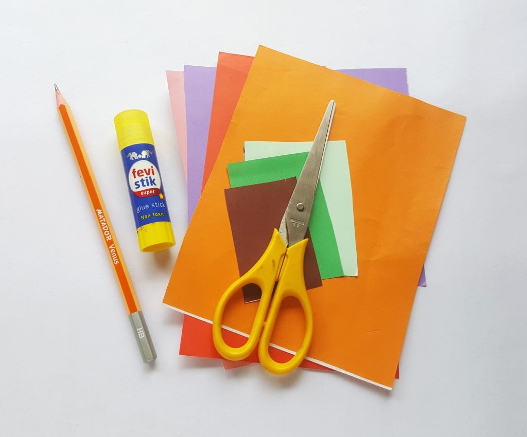 shape house toddler craft supplies