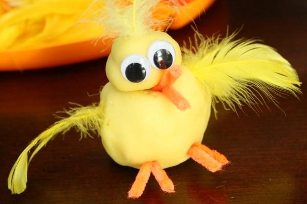 chick playdough