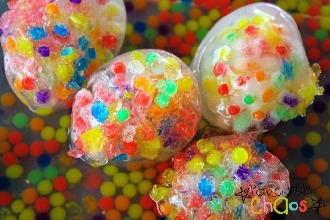 frozen water beads activity