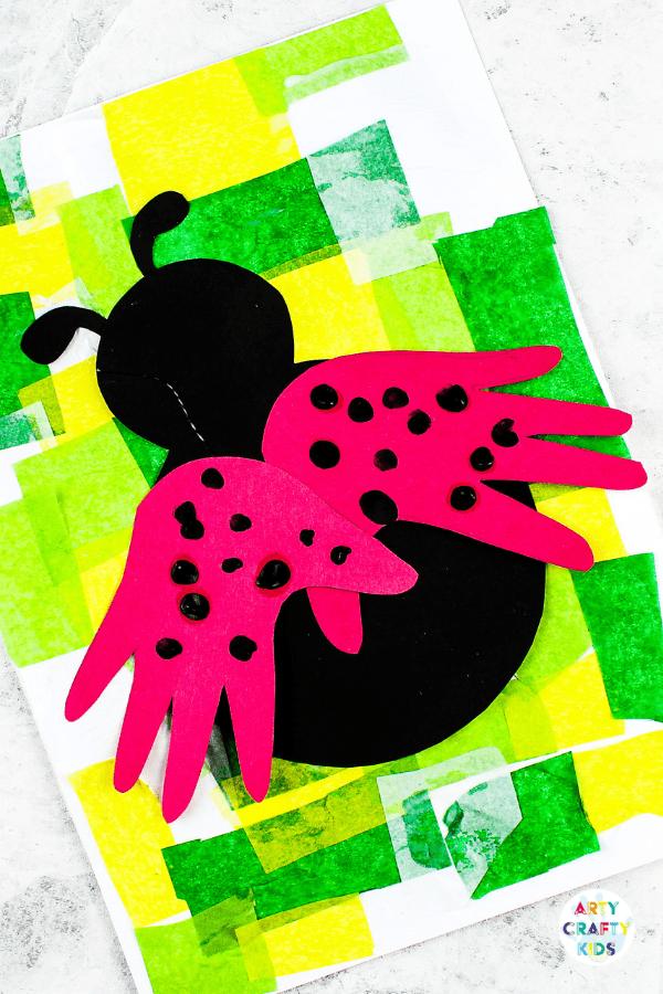 handpainted ladybug