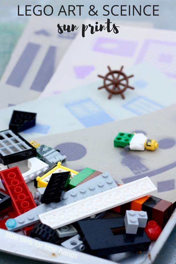 lego sun prints