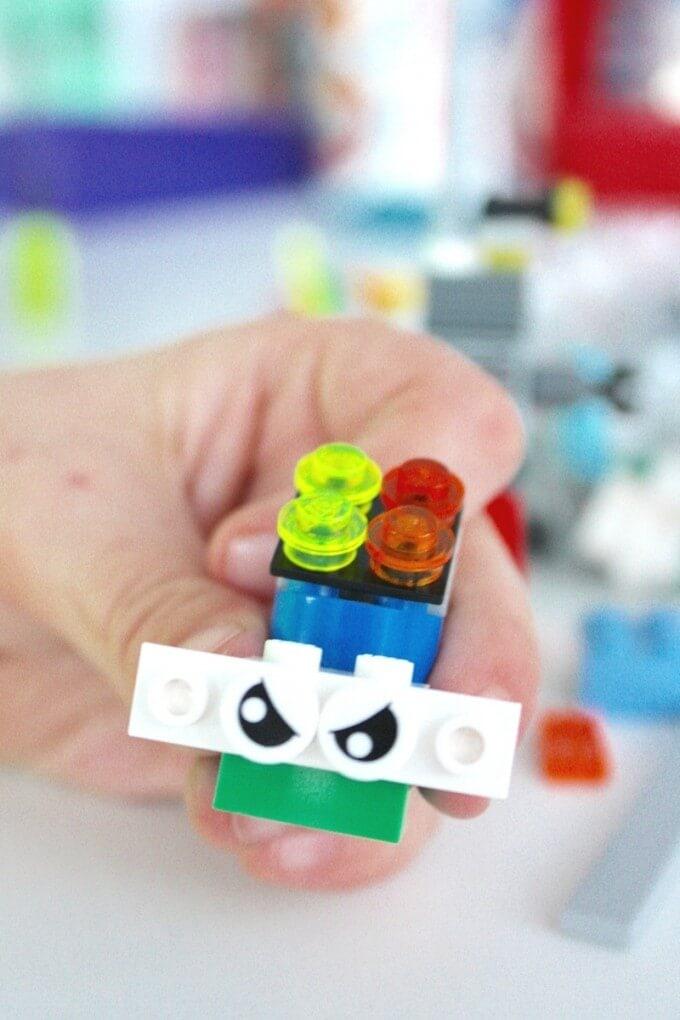 mini lego robots