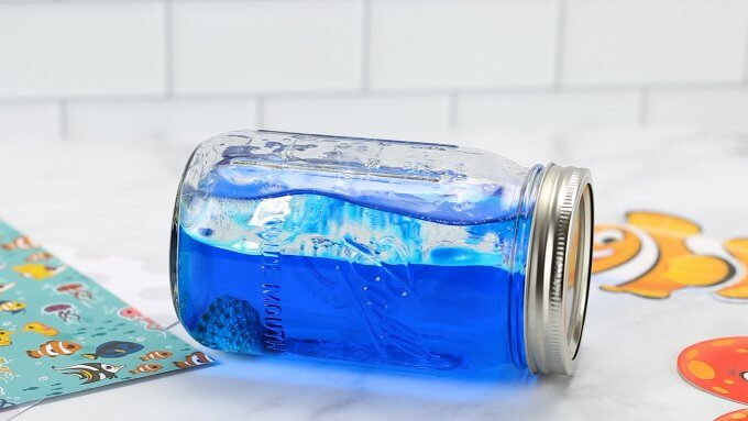 ocean waves in a bottle ocean activities for kids