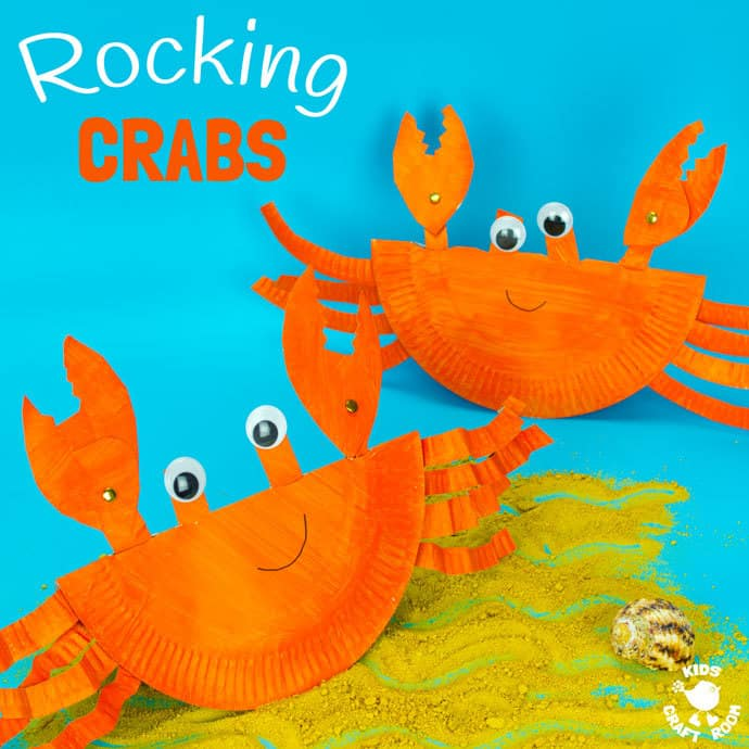 paper plate crabs