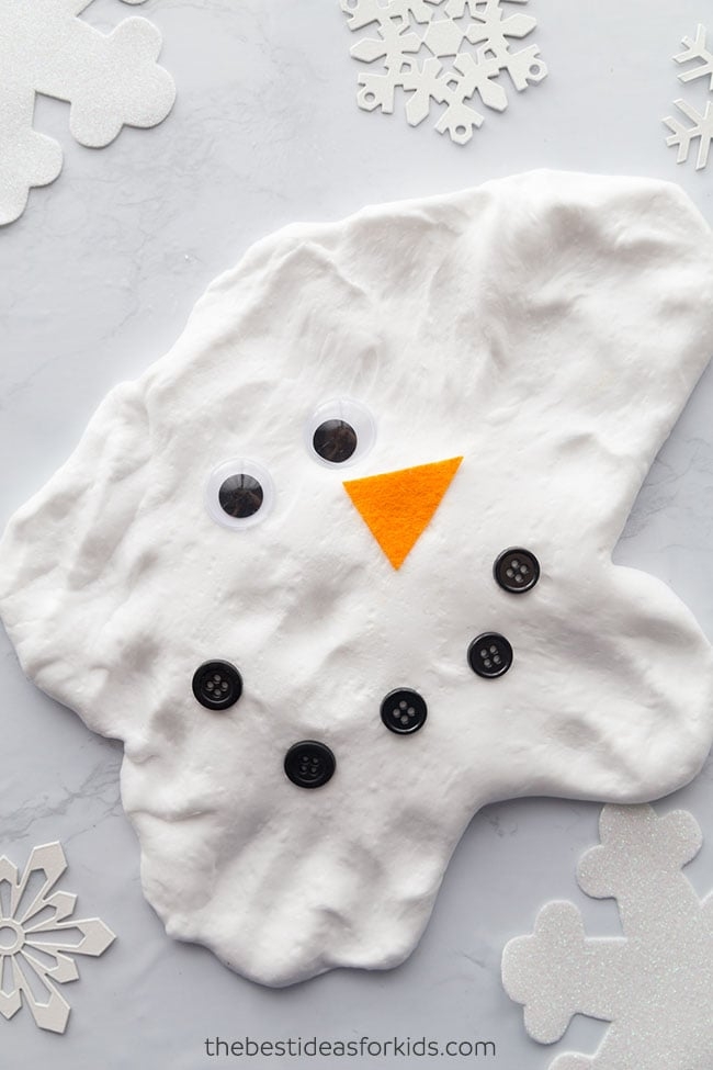 snowman slime weather activities for kids