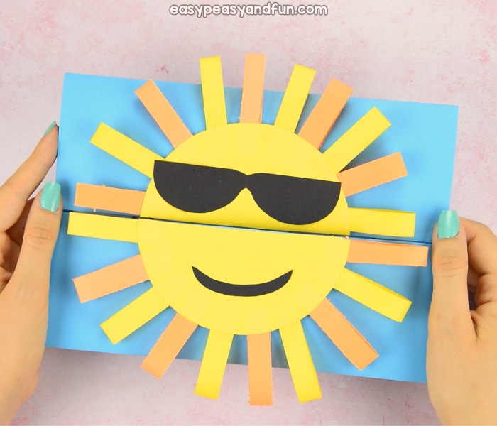 sun paper craft weather activities for kids