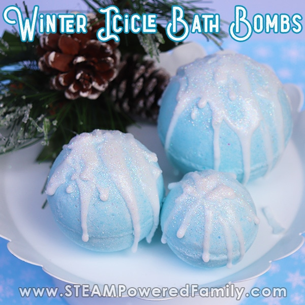 winter bath bombs