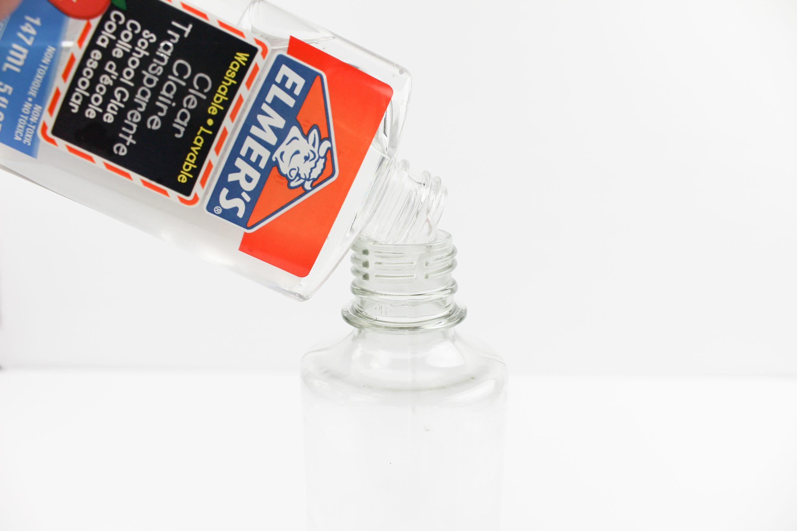 Sensory Bottle Elmer's Clear Glue