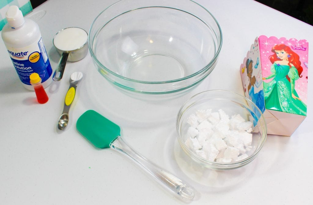 Popcorn Slime Supplies