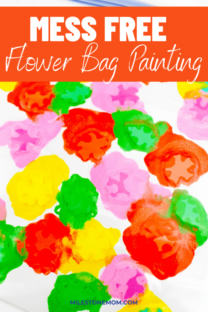 Flower Bag Painting Pin