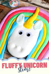 Milestone Mom - Fluffy Unicorn Slime
