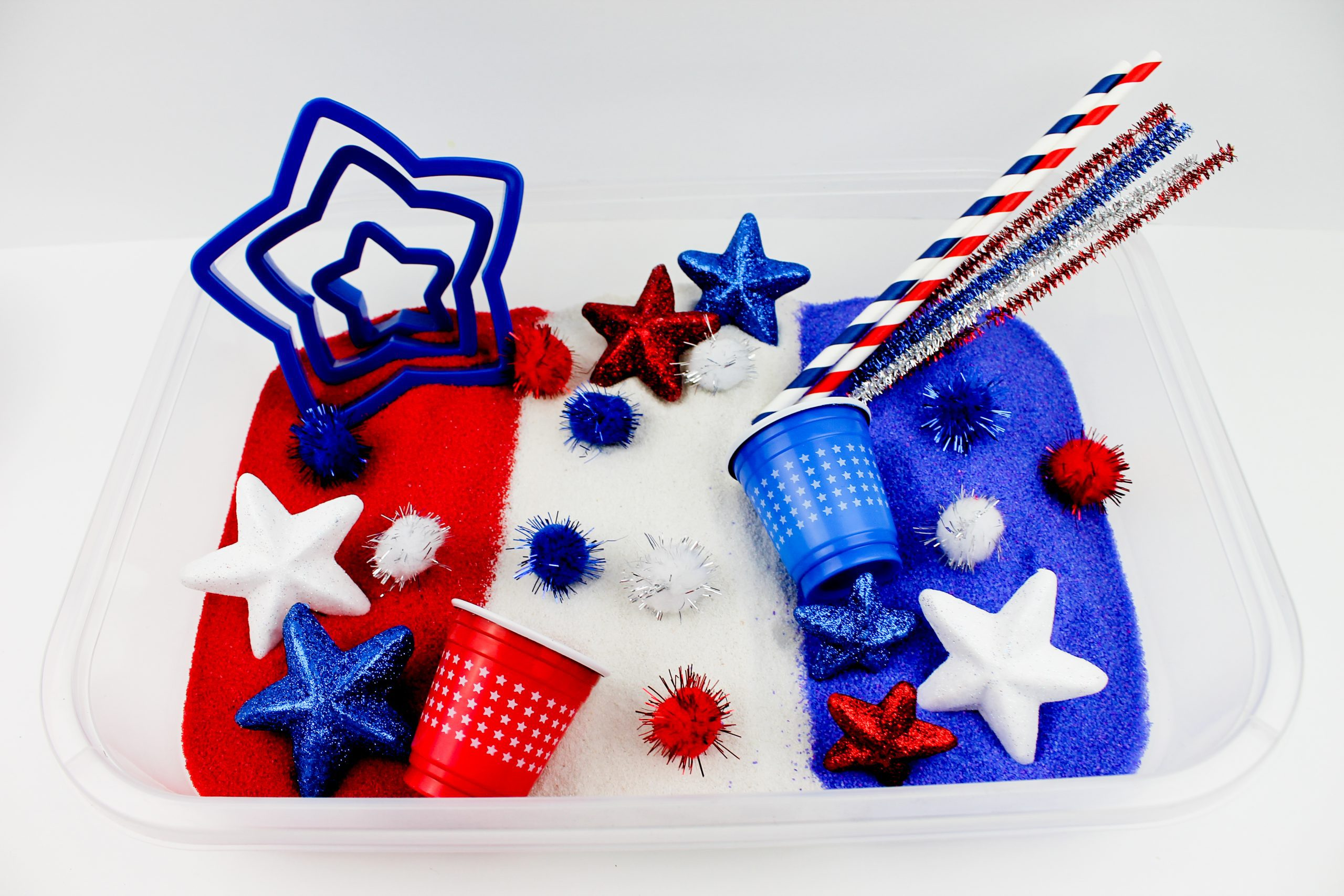 Independence Day Sensory Play