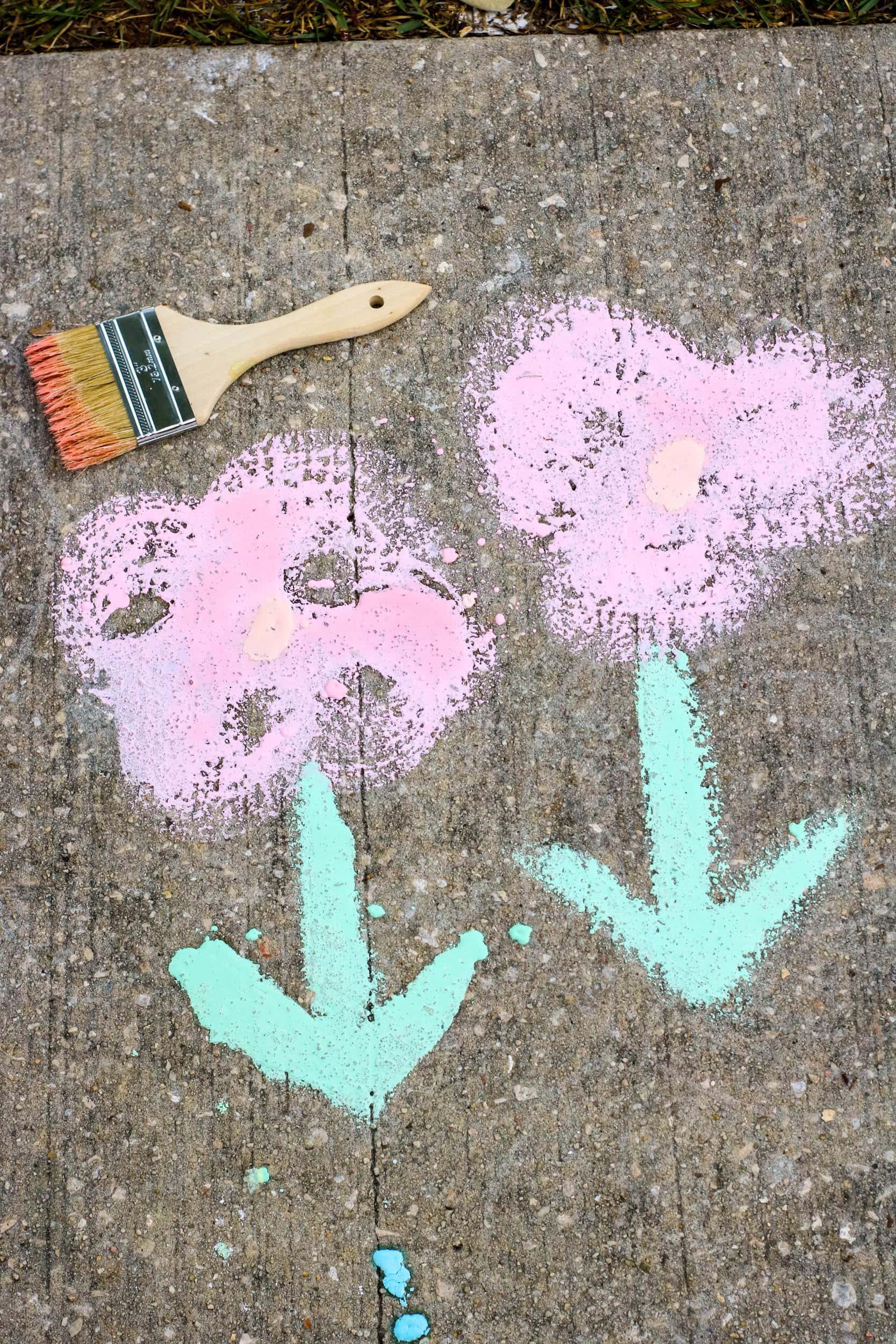 Sidewalk Paint Sample