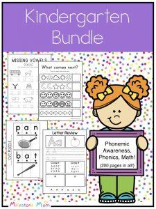 Kindergarten Bundle